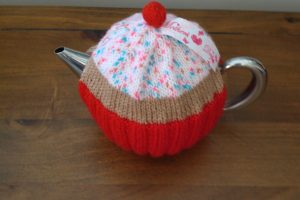 Cherry Top Cupcake Cosey