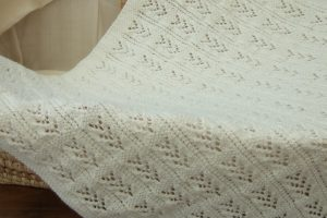 Large Sized Baby Blanket 30 x 40ins